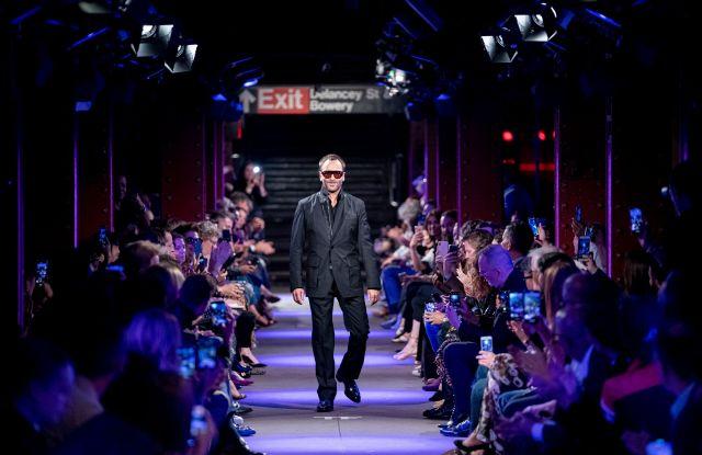 Tom Ford on the catwalkTom Ford show, Runway, Spring Summer 2020, New York Fashion Week, USA - 09 Sep 2019