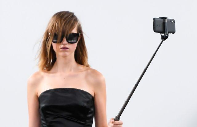 Model on the catwalkKimhekim show, Runway, Spring Summer 2020, Paris Fashion Week, France - 23 Sep 2019
