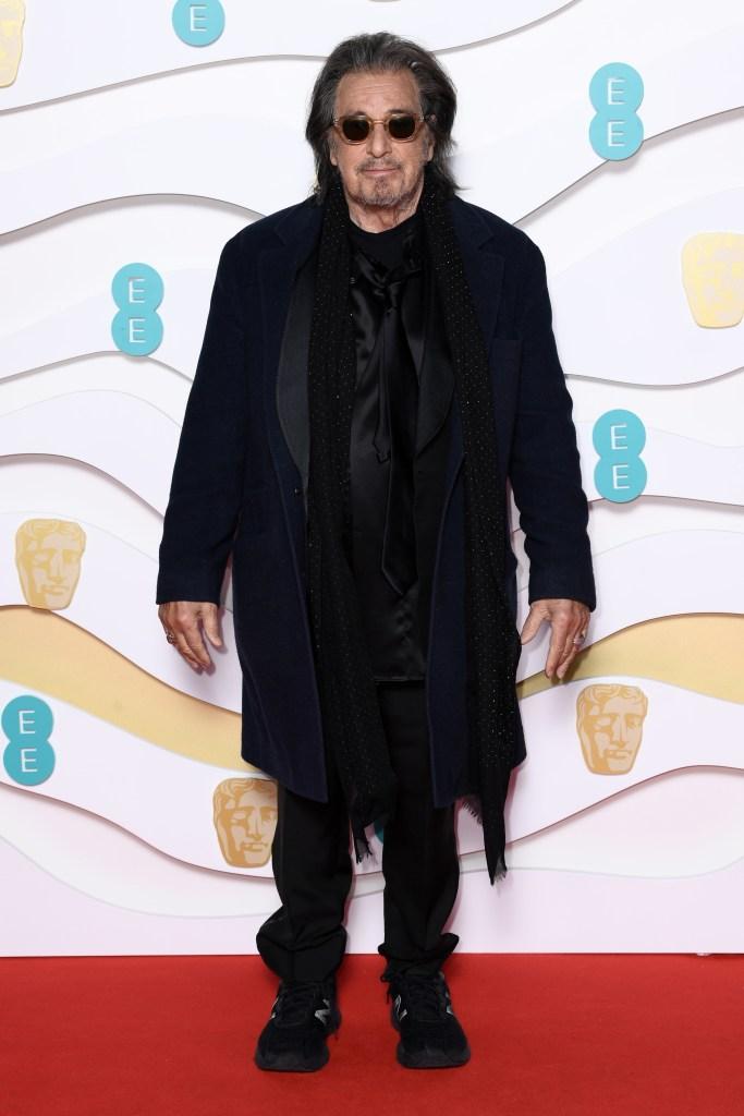 Al Pacino73rd British Academy Film Awards, Arrivals, Royal Albert Hall, London, UK - 02 Feb 2020