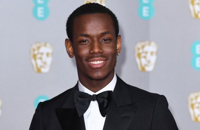 Micheal Ward73rd British Academy Film Awards, Arrivals, Royal Albert Hall, London, UK - 02 Feb 2020