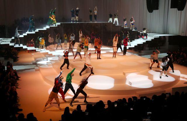 DancersNike show, Runway, Fall Winter 2020,