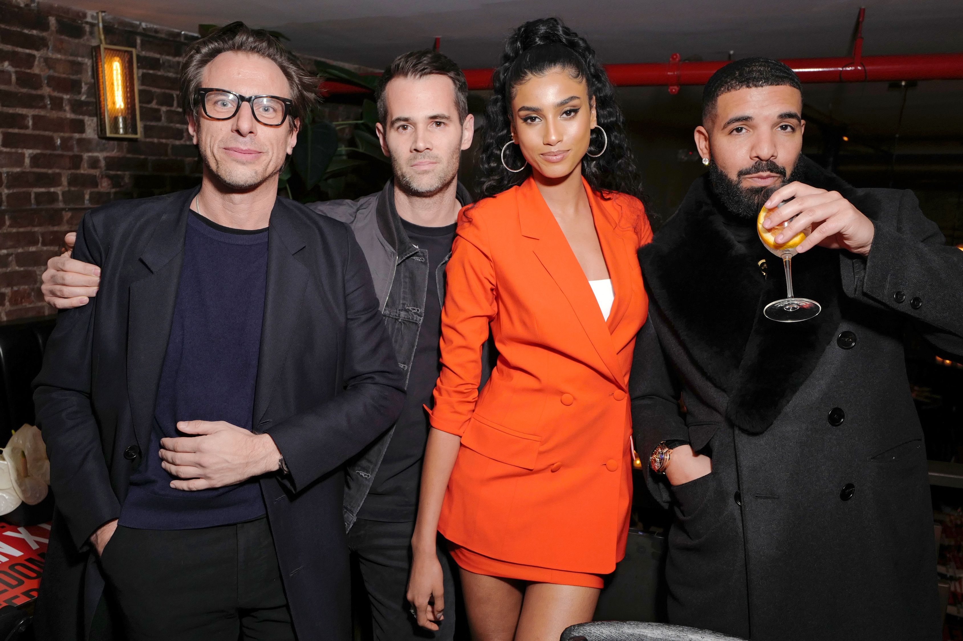 Erik Torstensson, Jens Grede, Imann Hammam and DrakeFrame x Imaan Dinner, Fall Winter 2020, New York Fashion Week, USA - 07 Feb 2020
