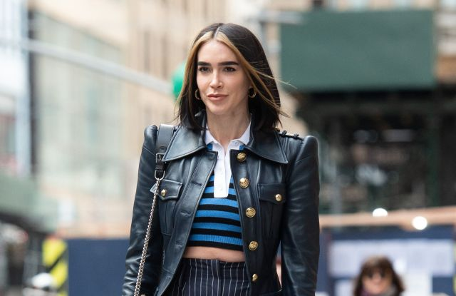 Brittany Xavier in New York during fall 2020 fashion week.