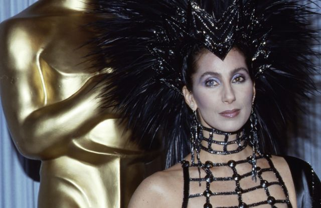 Cher at the 1986 Oscars