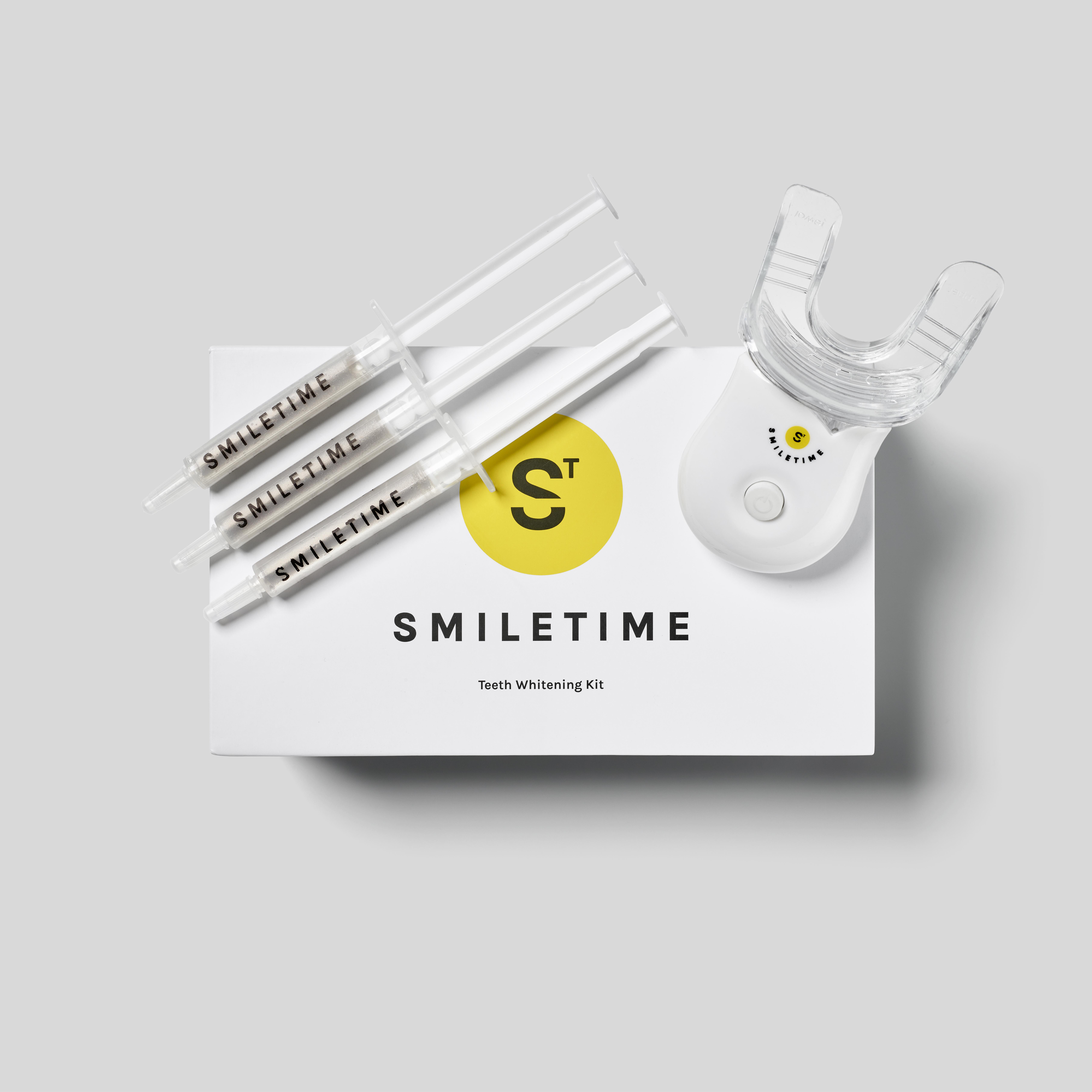 SmileTime whitening kit