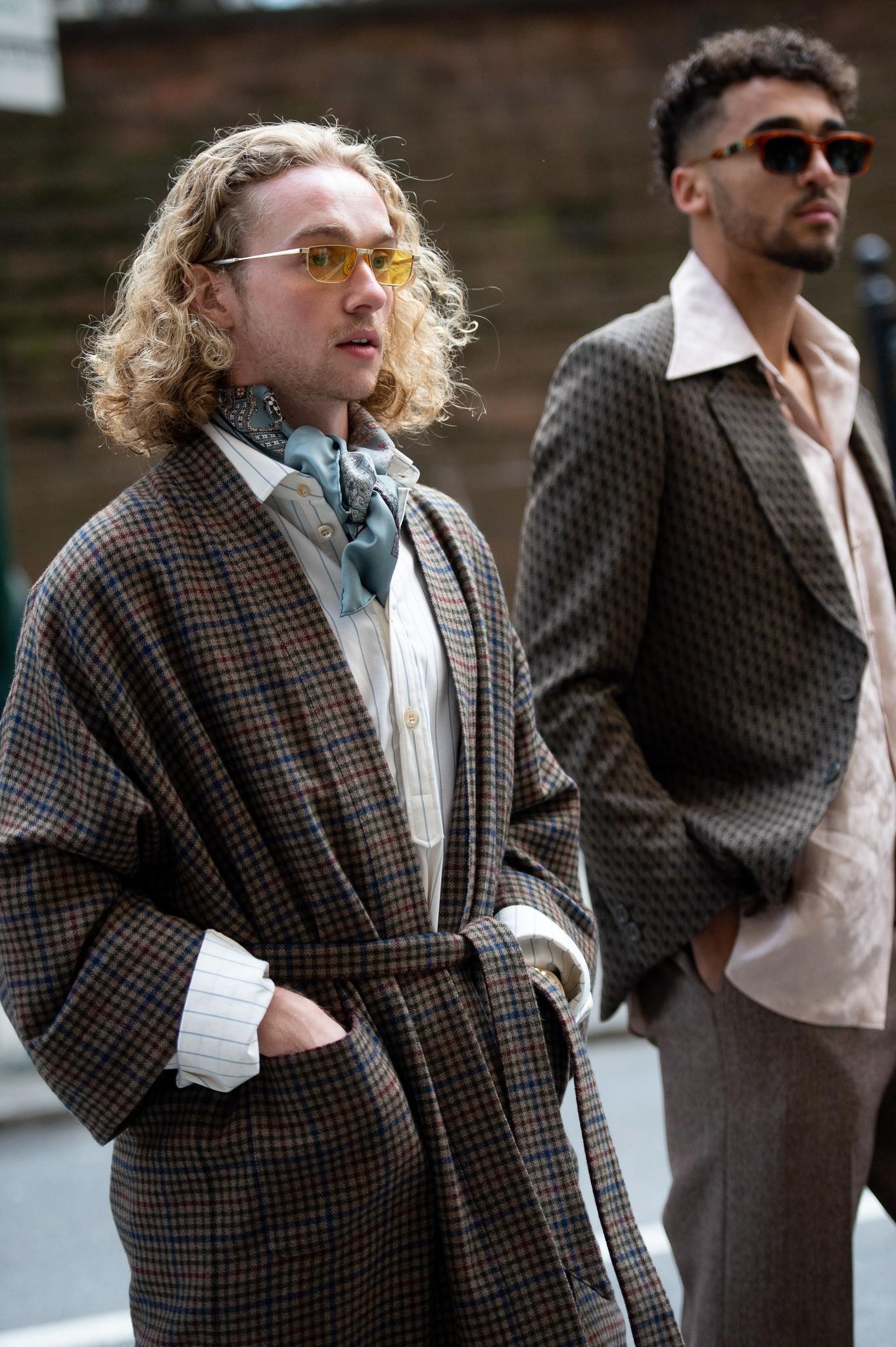 Street style at New York Fashion Week Fall 2020