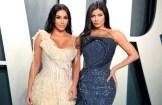 Kim Kardashian West and Kylie Jenner