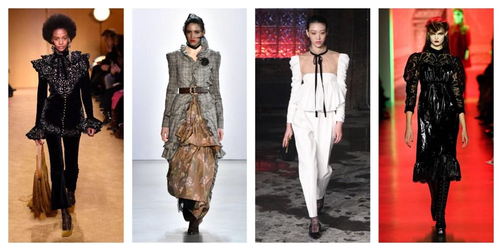 NYFW Fall 2020 Fashion Trend: Victorian Frills