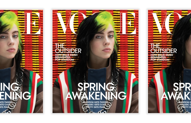 The latest Vogue cover