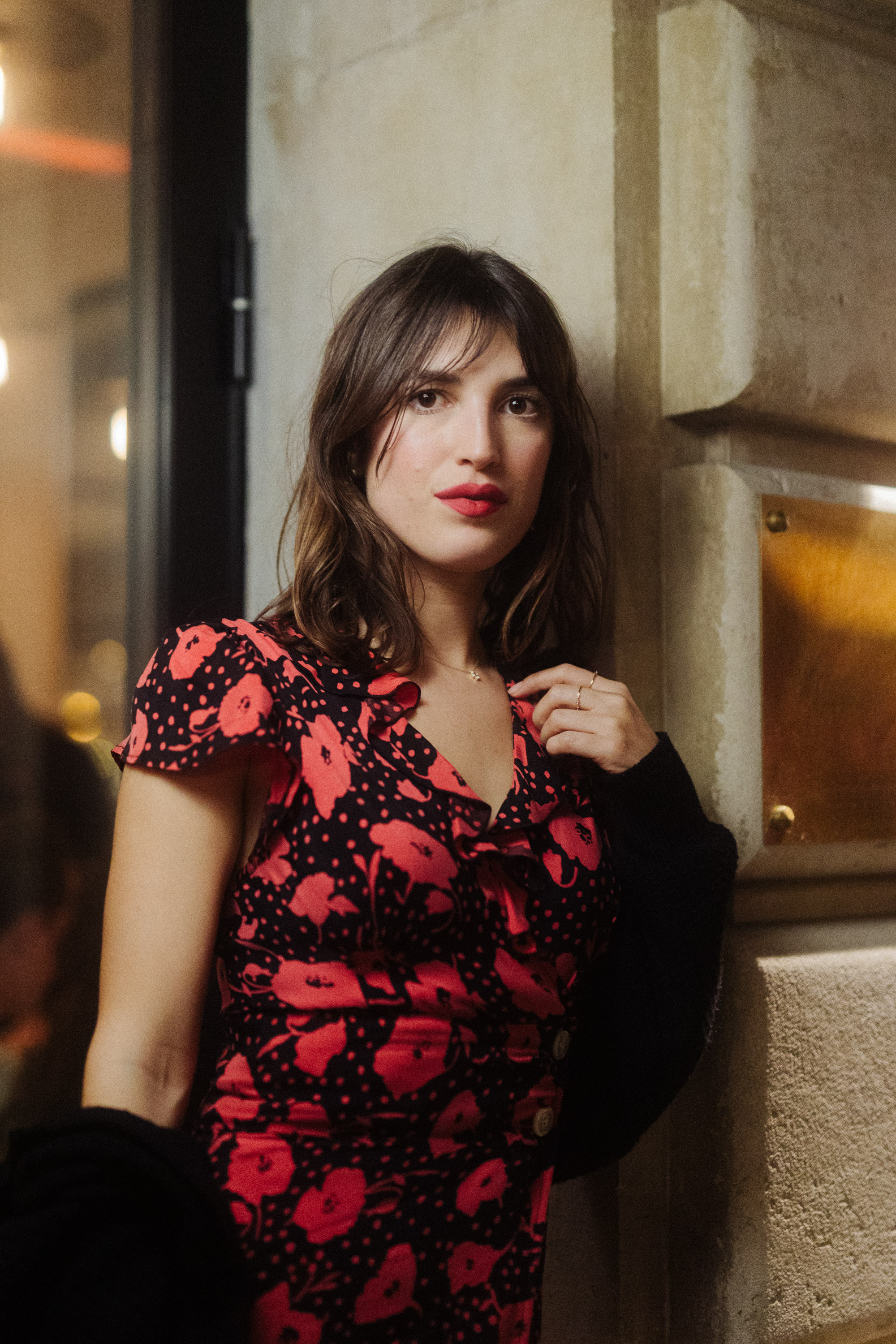 Jeanne Damas at her restaurant Chez Jeanne