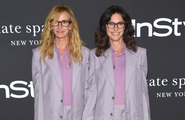 Julia Roberts and Elizabeth StewartInStyle Awards, Arrivals, Los Angeles, USA - 22 Oct 2018WEARING GIVENCHY