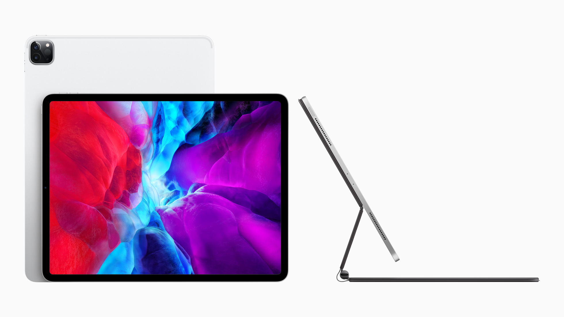 Apple announced its new iPad Pro on Wednesday.