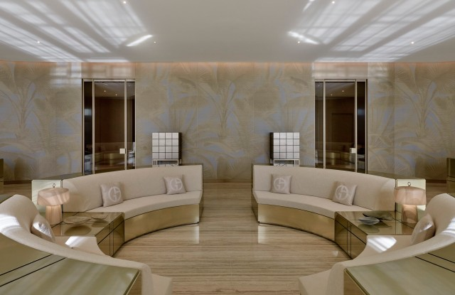 A look inside the Residences by Armani/Casa.