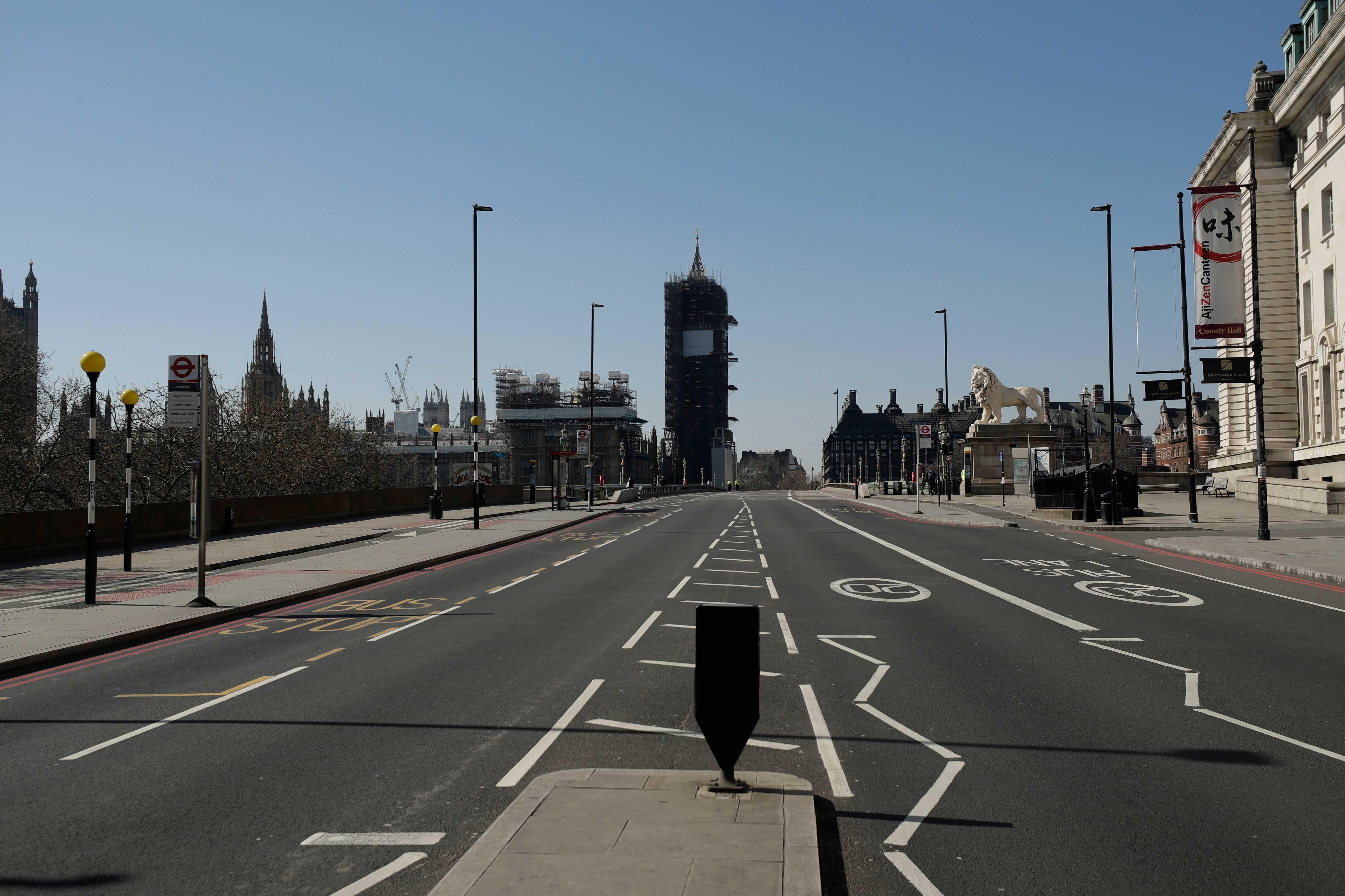 Houses of Parliament Westminster Bridge London