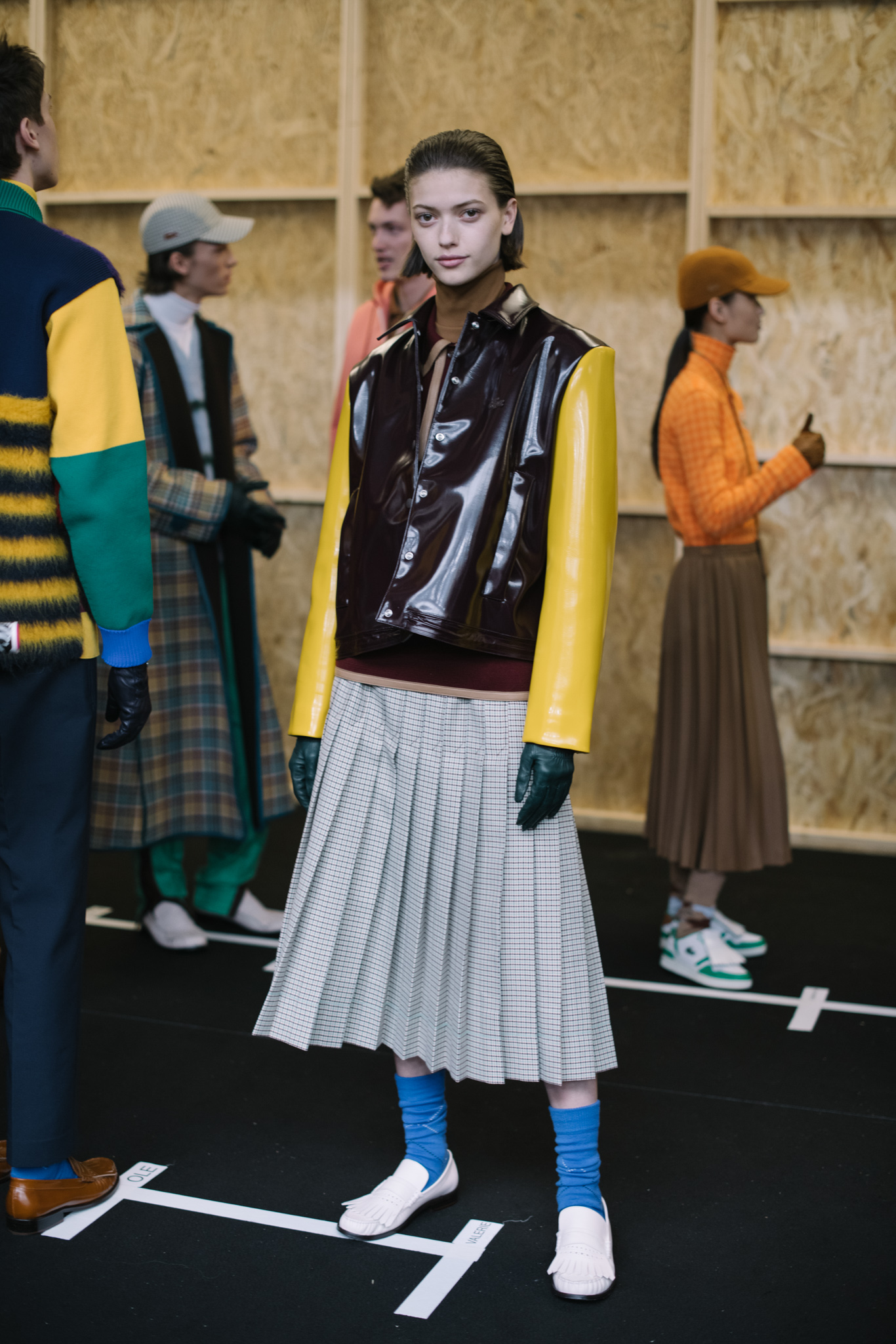 Backstage at Lacoste RTW Fall 2020
