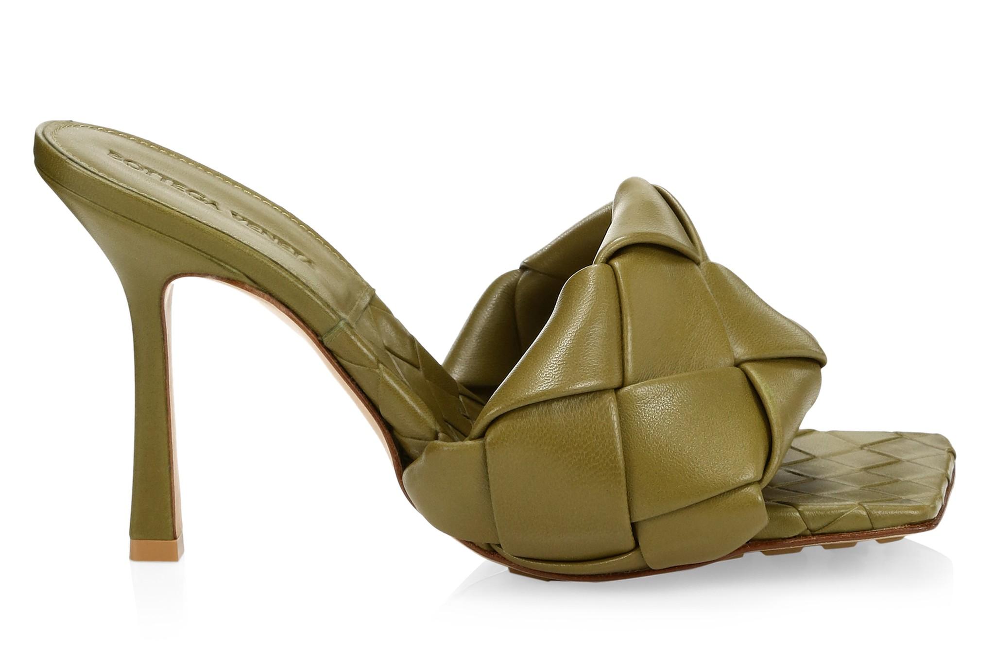 Bottega Veneta Lido leather mules.