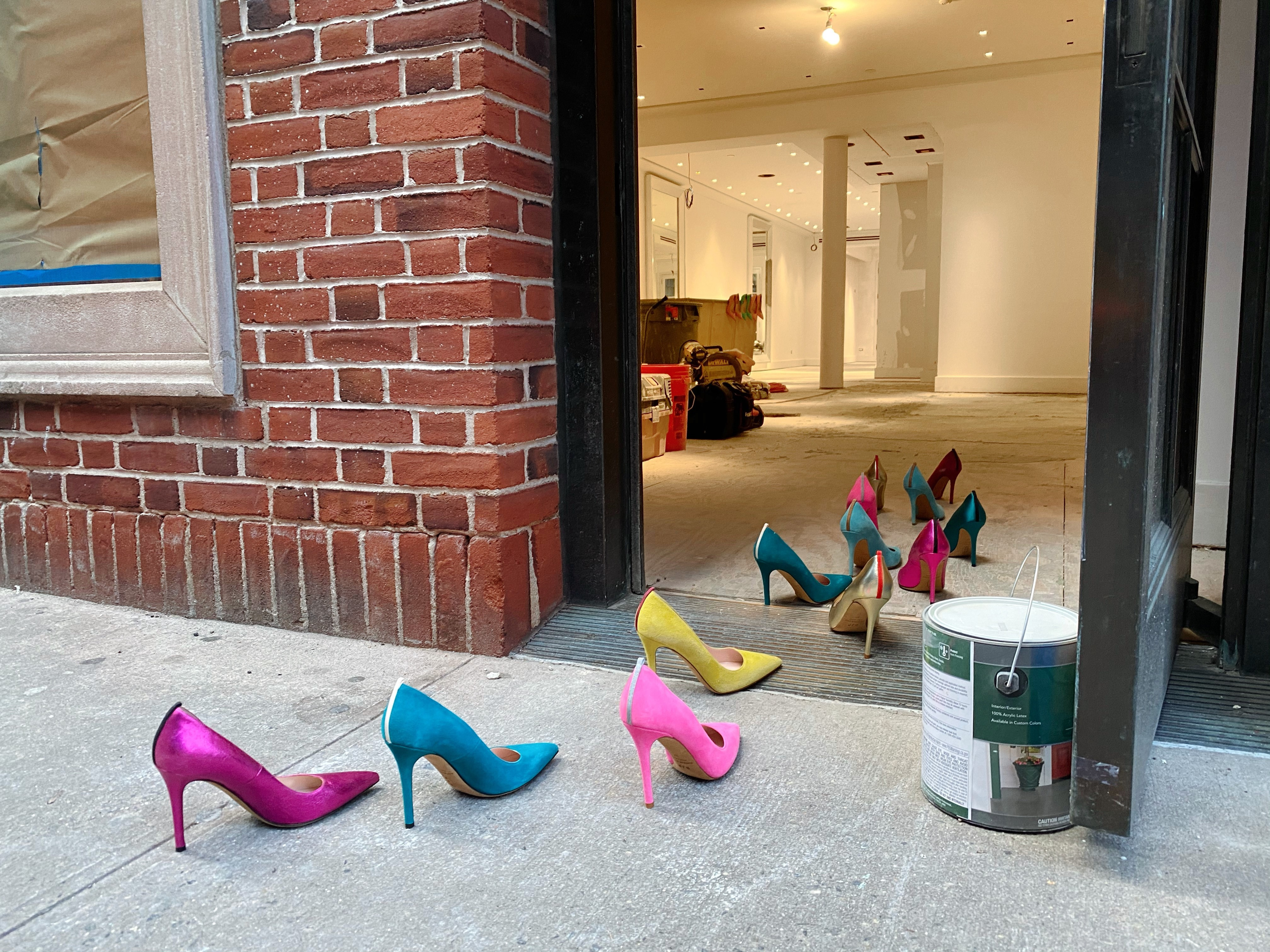 The SJP by Sarah Jessica Parker flagship will feature Parker's bestselling shoe styles.