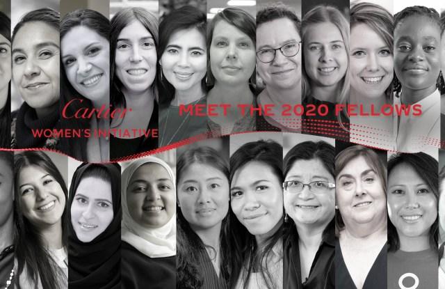 Cartier Women's Initiative has revealed its 2020 finalists.