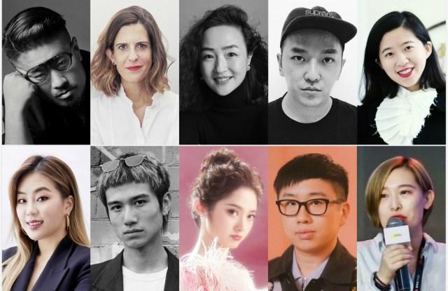 Above, from left to rightJumbo Tsui, Chloé Reuter, Sujia Zhuge, Xander Zhou, Tasha Liu. Bottom: Yiling Hong, Bohan Qiu, Rita Wang, Declan Chan, Shangzi Li