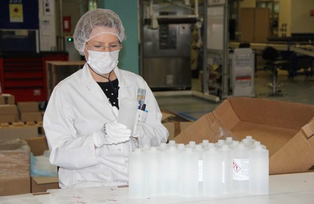 Clarins Hand Sanitizer Coronavirus