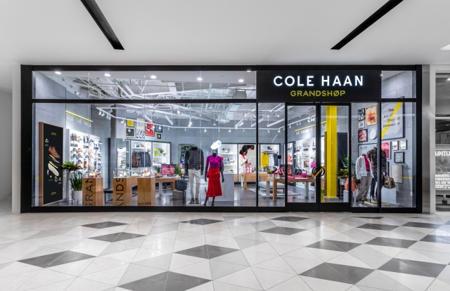 Exterior of Cole Haan's new Grandshop location at the Westfield Valley Fair in Santa Clara, Calif.