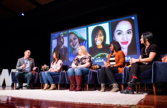 Mitch Spolan and guest speakers at WWD's Digital Beauty Forum 2020.