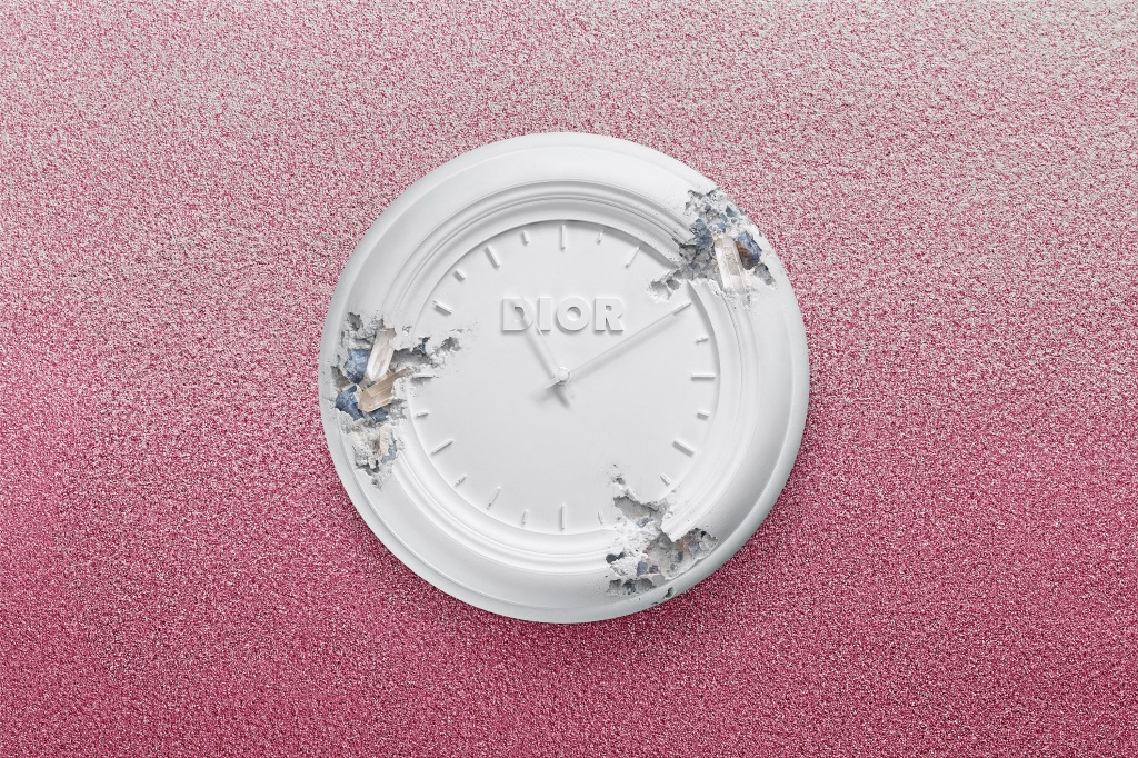 A limited edition object by Daniel Arsham for Dior.