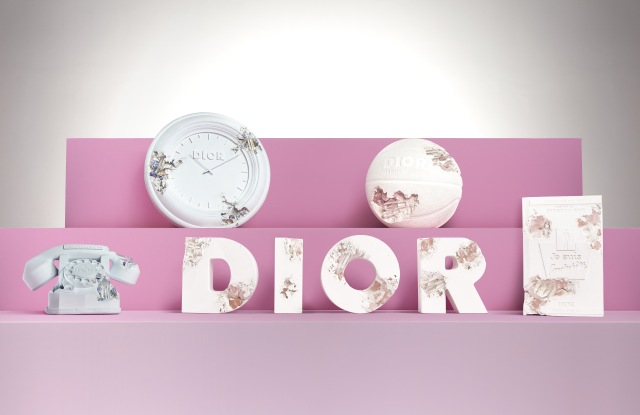 Limited edition objects by Daniel Arsham for Dior.