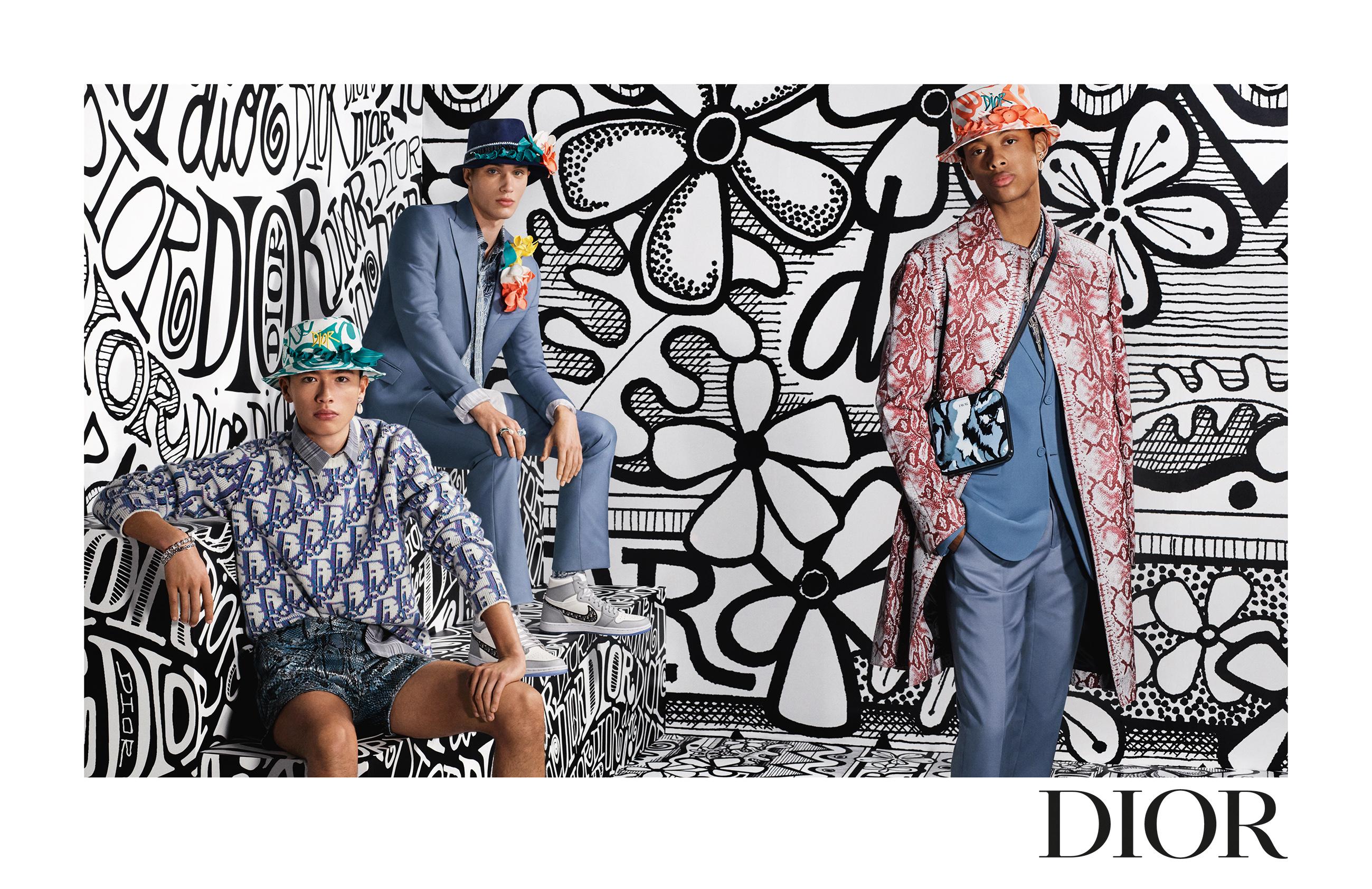 Dior men's fall 2020 campaign