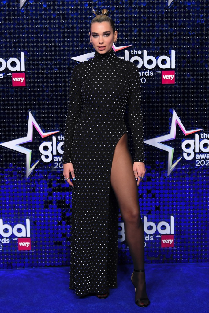 Dua LipaThe Global Awards, London, UK - 05 Mar 2020Wearing Mugler same outfit as catwalk model *10564625aq