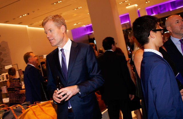 Erik Nordstrom at the Nordstrom NYC Flagship Store Opening Party.