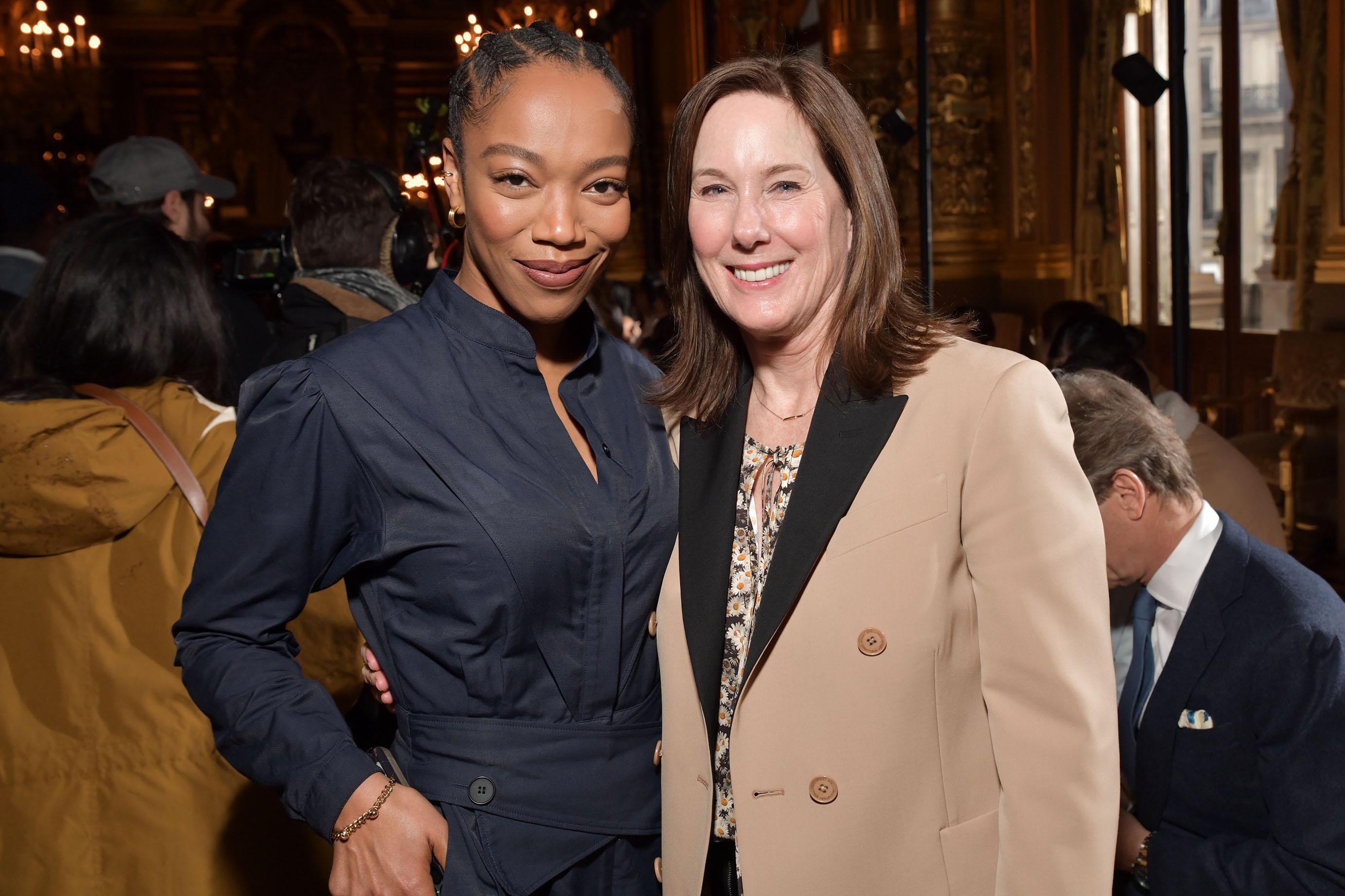 Naomi Acki and Kathleen Kennedy