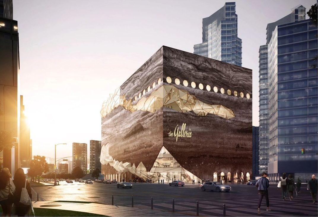 Hanwha's Galleria Gwanggyo.