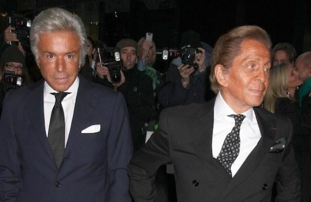 Valentino Garavani and Giancarlo Giammetti pledged a 1 million euro donation to fight the COVID-19 pandemic.