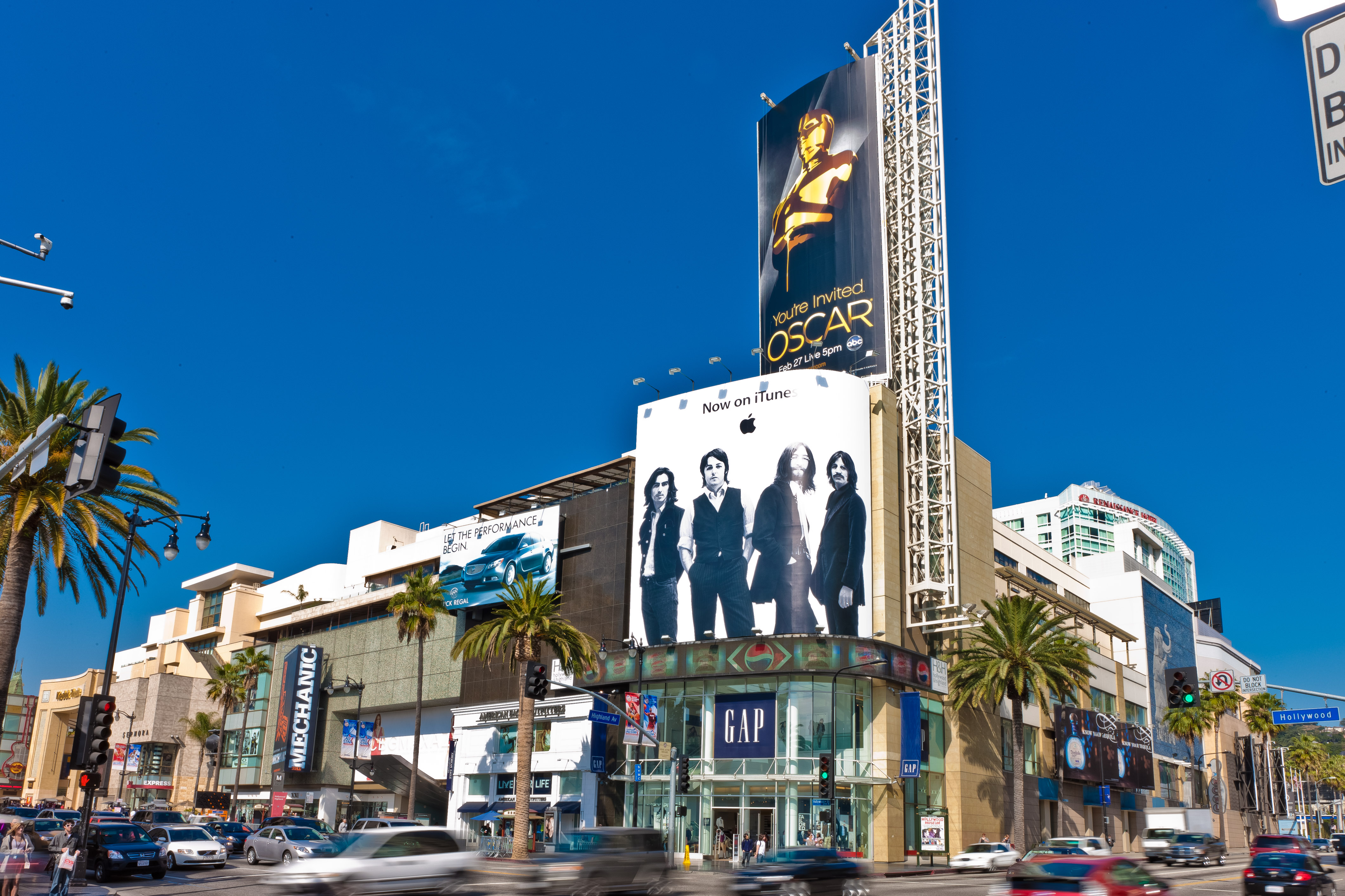 The Hollywood & Highland complex in California.