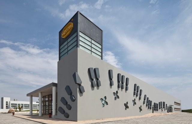 Vibram's technology center.