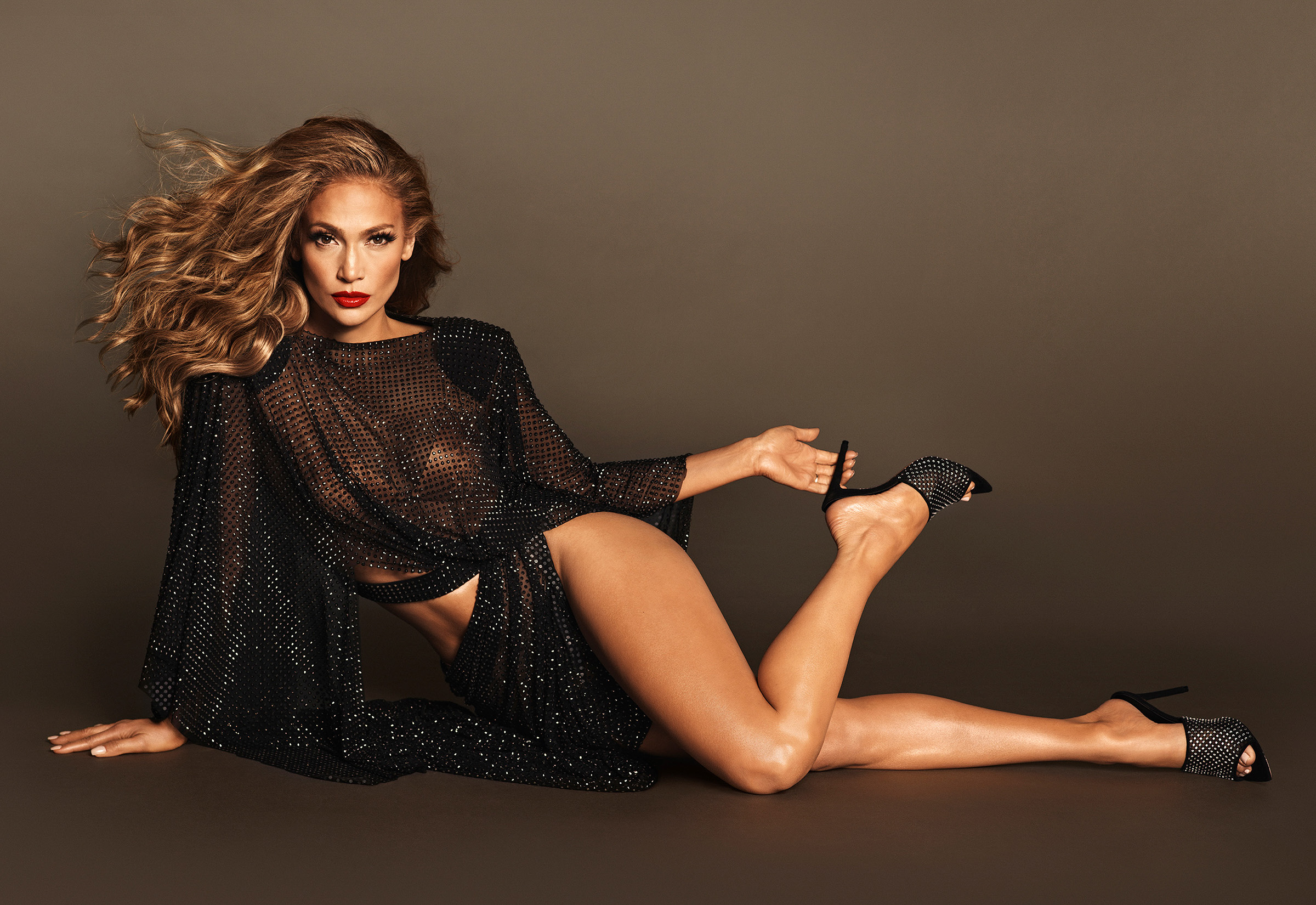 Jennifer Lopez featured in JLO Jennifer Lopez campaign.