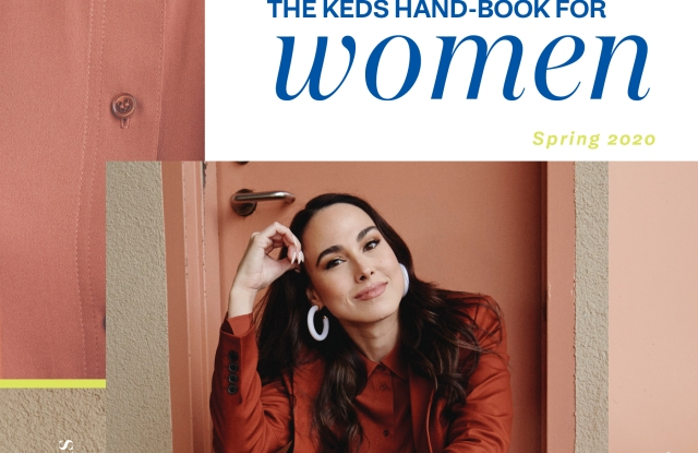 The cover of the new Keds Hand-Book for Women.