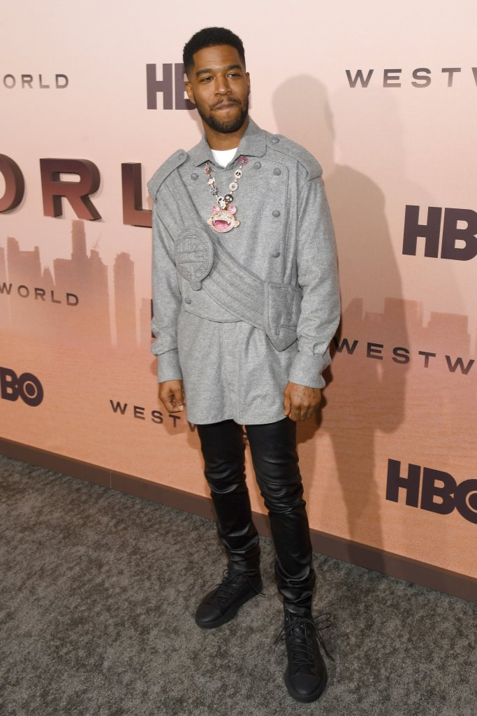 Kid Cudi'Westworld' Season 3 TV show premiere, Arrivals, Los Angeles, USA - 05 Mar 2020Wearing Louis Vuitton same outfit as catwalk model *10056741f and Dylan Wang Hedi