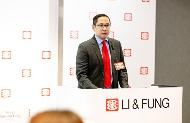 Spencer Fung, ceo of Li & Fung.