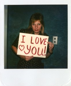 "Polaroids from Linda McCartney's exhibit ""The Polaroid Diaries"" at C/O Berlin."