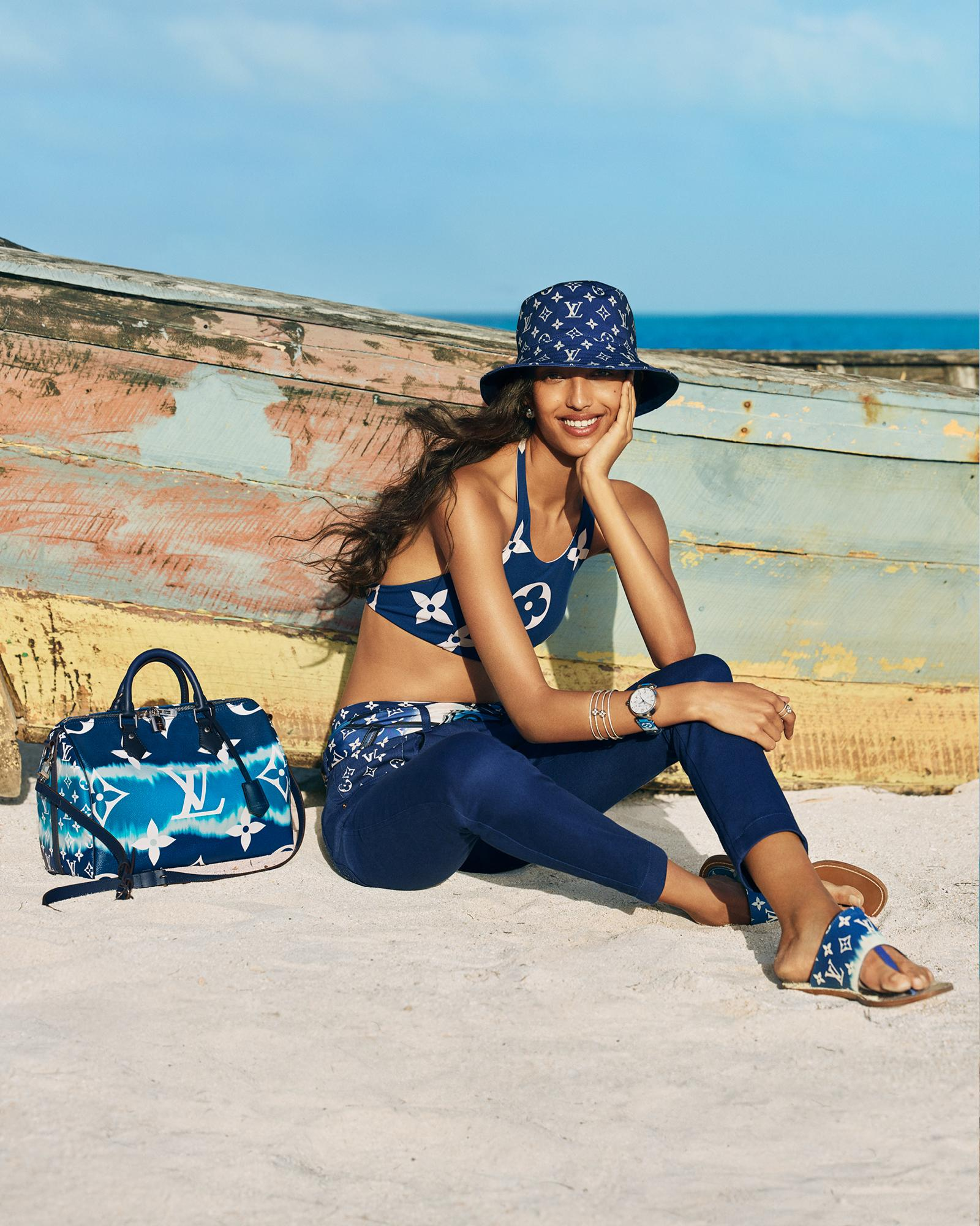 A look from Louis Vuitton summer 2020 collection.