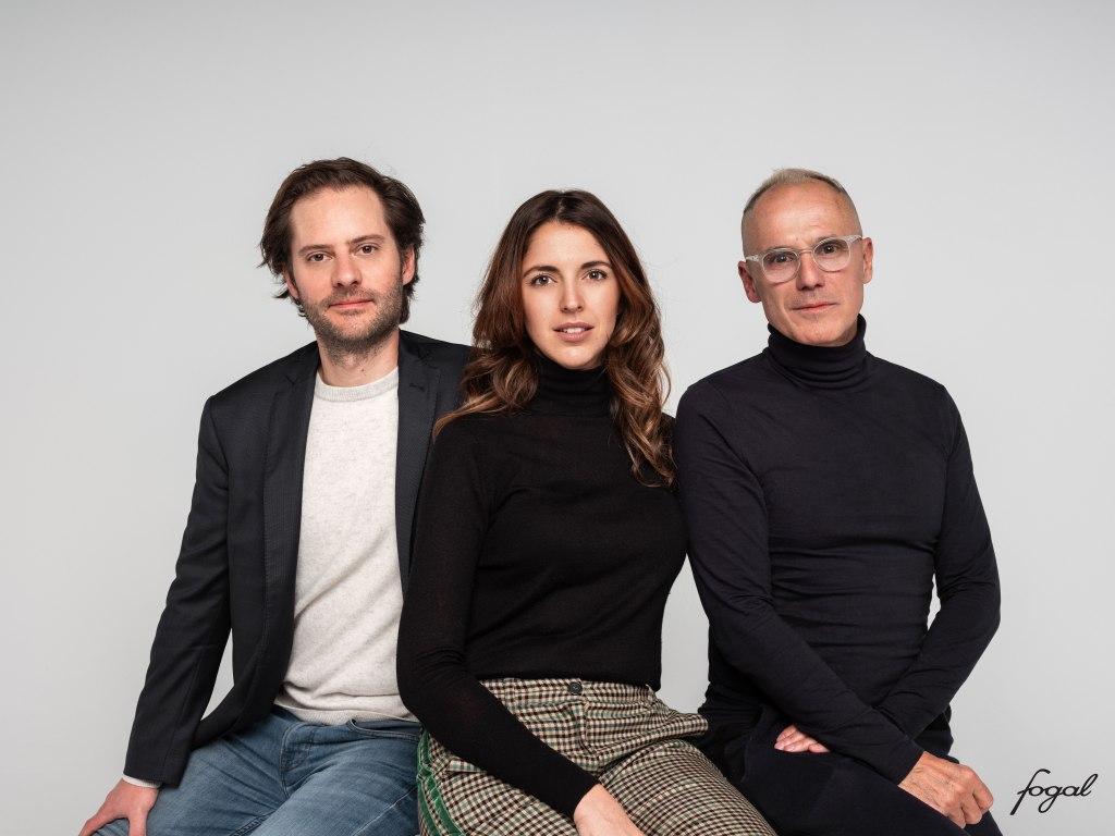 Edouard Burrus, Margaux Burrus and Jean Luc Amsler