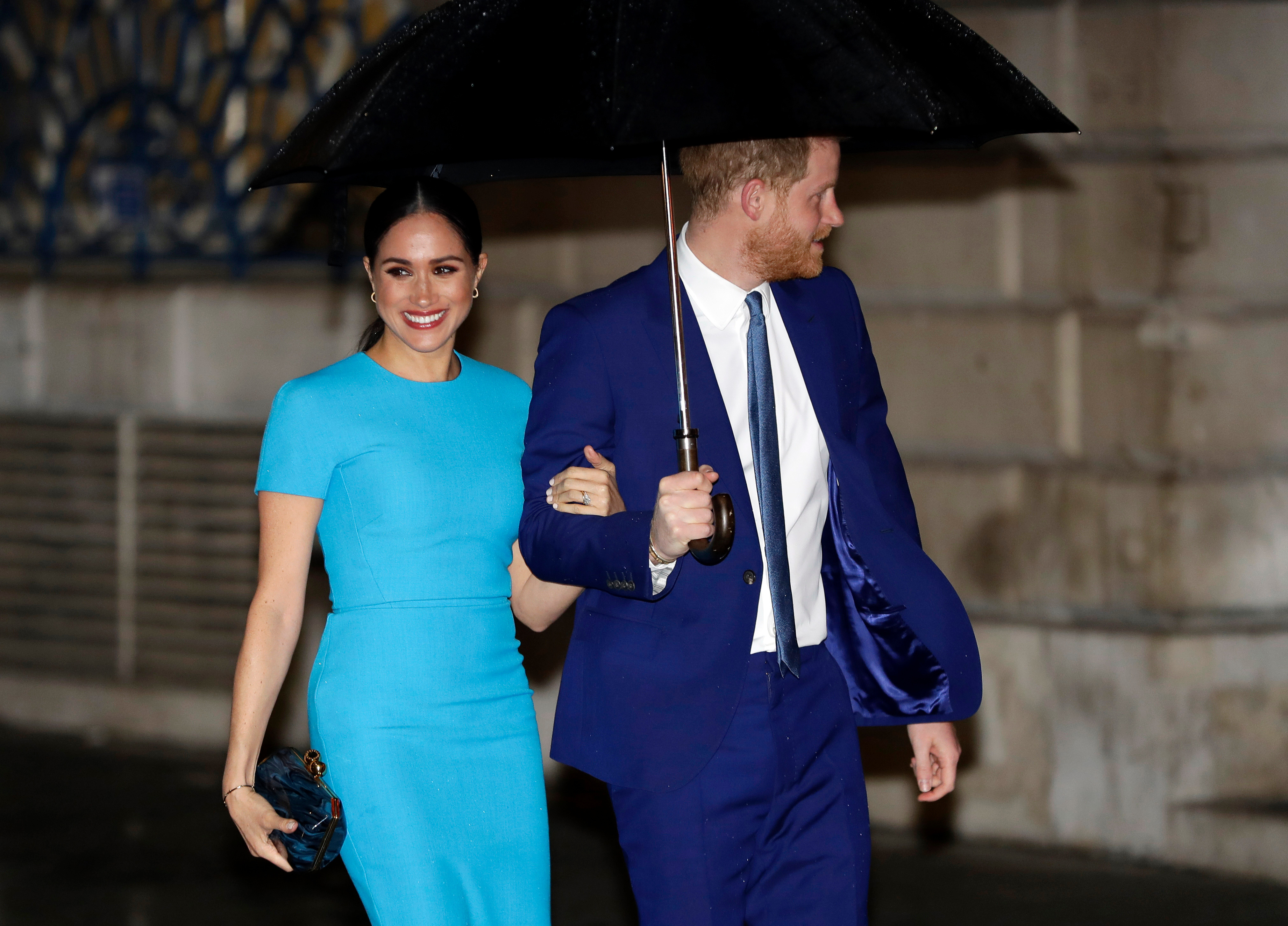 The Duke and Duchess of Sussex Make First Public Appearance Since Megxit