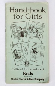 A vintage hand-book for girls.