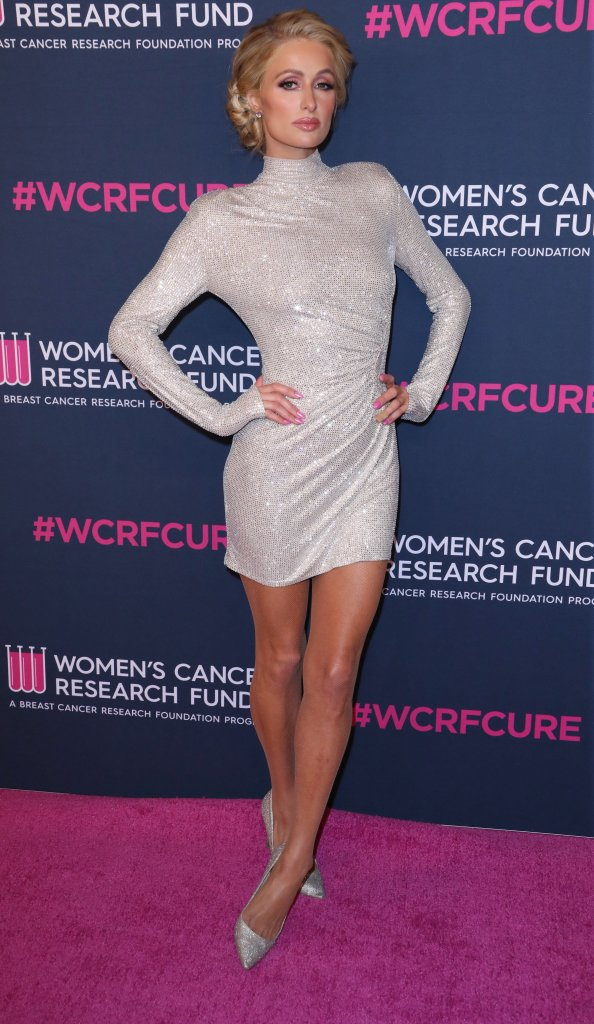 Paris HiltonThe Women's Cancer Research Fund hosts An Unforgettable Evening, Arrivals, Beverly Wilshire Hotel, Los Angeles, USA - 27 Feb 2020