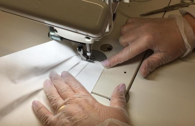 Prada converted its production to supply medical overalls and sanitary masks.