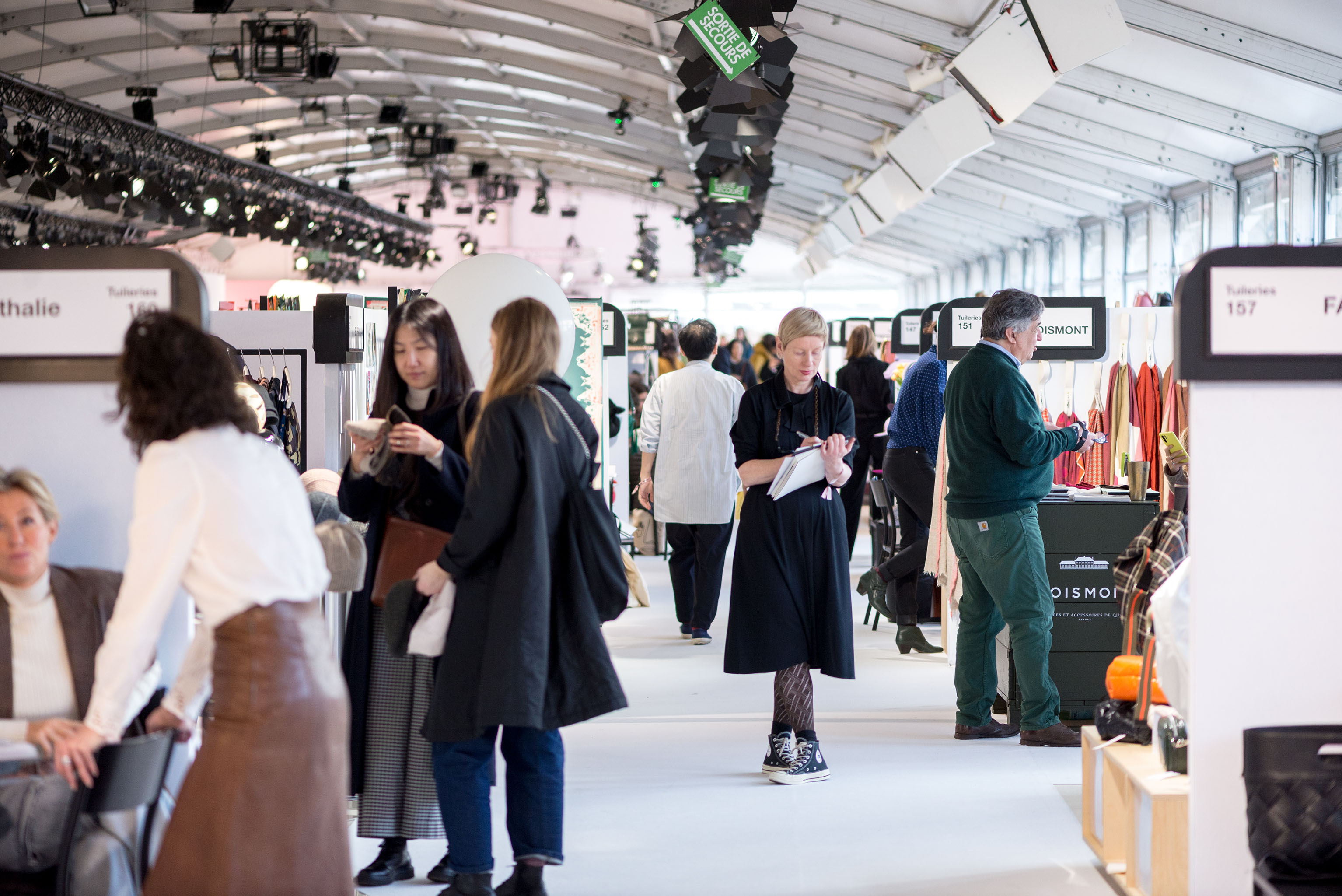 A view of Première Classe trade show.