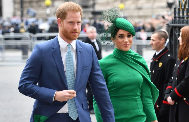 Harry and Meghan Make Last Royal Appearance at Commonwealth Day Service