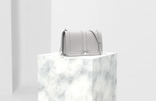 Rebecca Minkoff has been testing Shopify's new support for 3-D models for 40 of its bags.